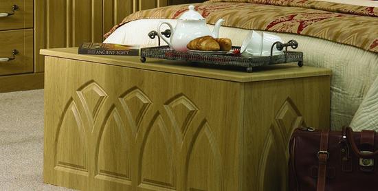 Gothic Blanket Box