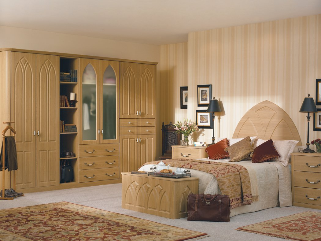Bella Gothic Lissa Oak Bedroom