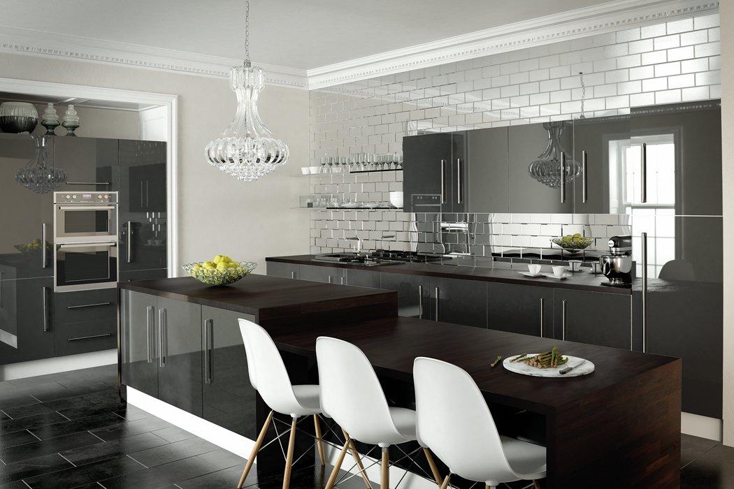 Zurfiz Metallic Anthracite Kitchen
