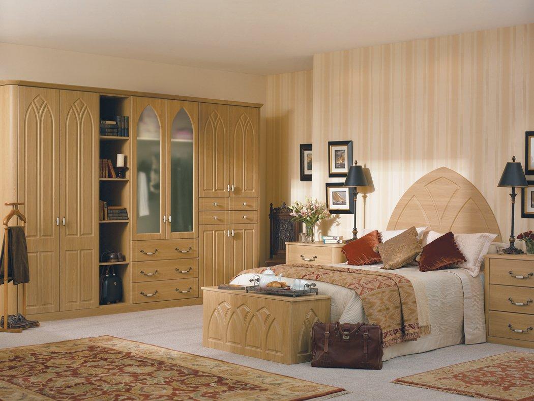Bella Gothic Lissa Oak Bedroom