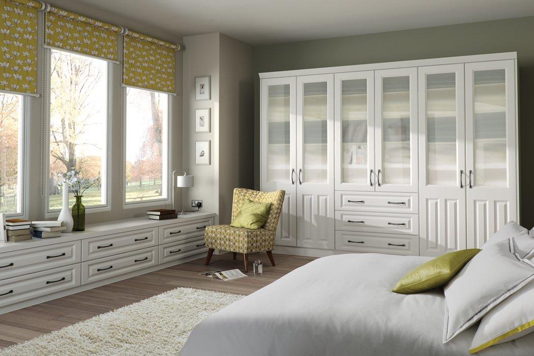 Bella Milano Super White Ash Bedroom
