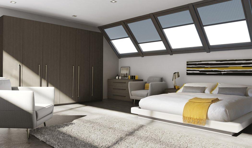 Bella Venice Opengrain Dark Grey Bedroom