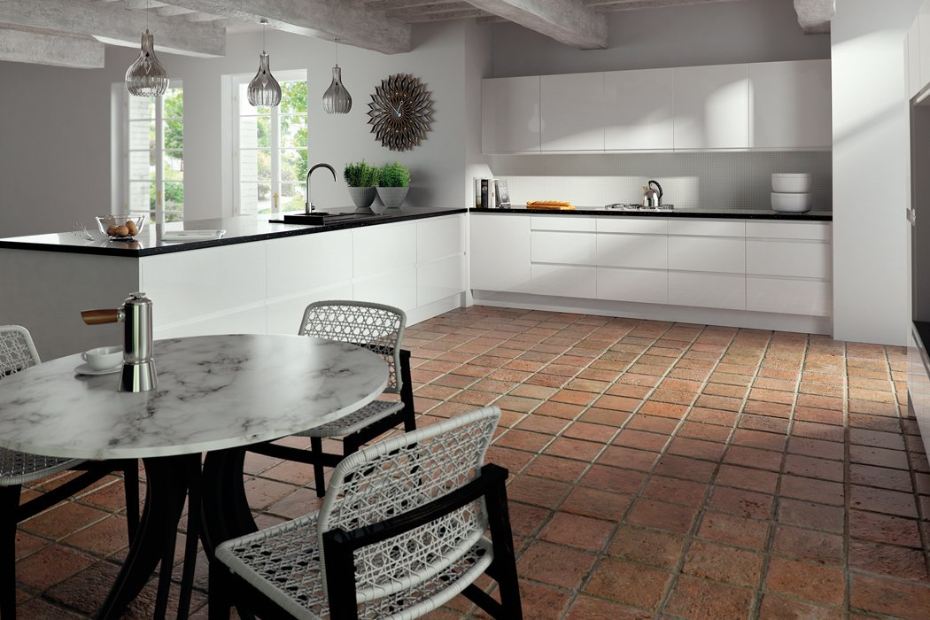 Pronto Lacarre Gloss Light Grey Kitchen