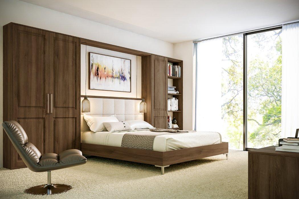 Bella Natural Walnut Tuscany Bedroom